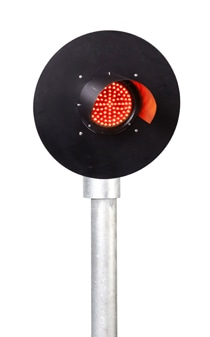 Single Aspect Red Mainline Railway Signal